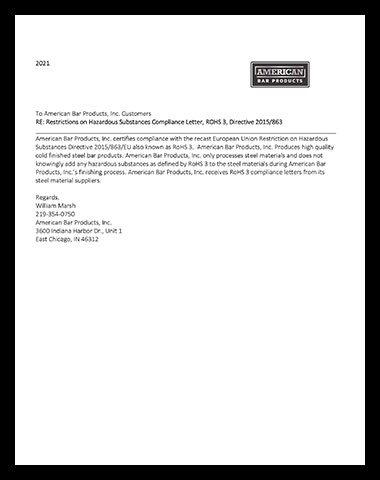 ROHS - 2021 document